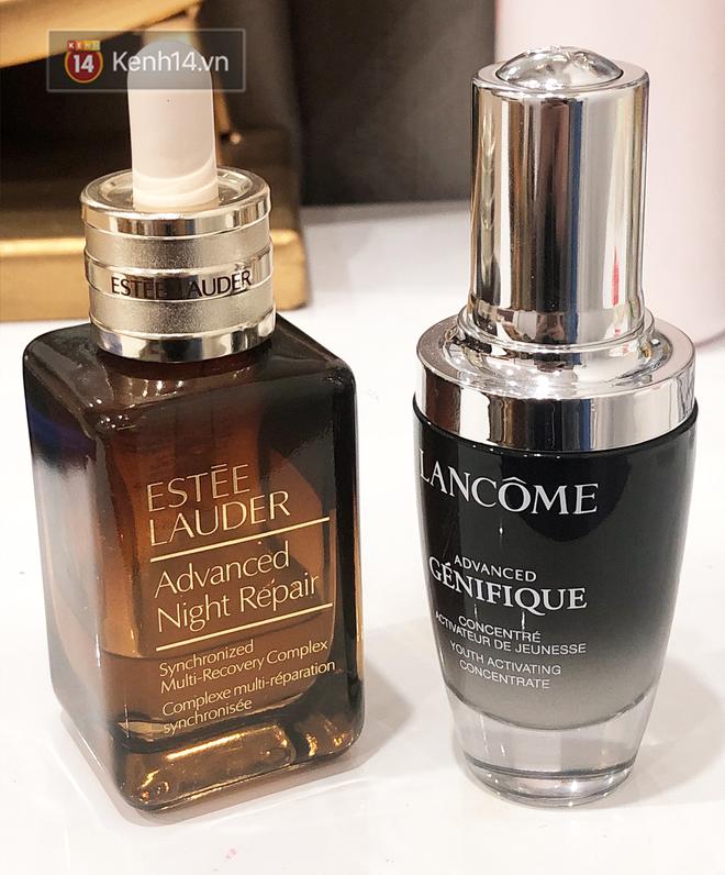 So sánh serum chống lão hóa Estée Lauder và Lancôme: Đắt và tốt ngang ngửa nhưng nếu chỉ sắm 1 thì nên chọn gì? - ảnh 1