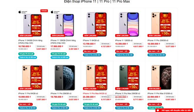 Các dòng iPhone cũ giảm giá mạnh vào dịp cuối năm nhưng cũng có nhiều điều cần phải lưu ý - ảnh 1
