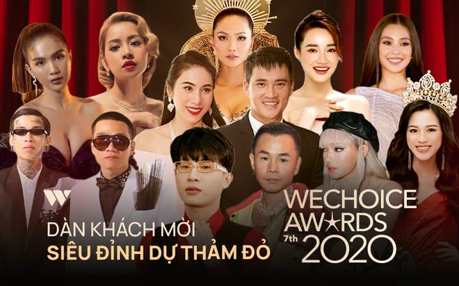 Công bố dàn line-up khủng đổ bộ siêu thảm đỏ WeChoice Awards 2020: Hơn 30 nàng hậu, 200 ca sĩ, diễn viên hot nhất Vbiz cùng góp mặt - ảnh 1