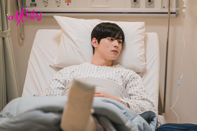 Thiếu Moon Ga Young, Cha Eun Woo liền mạnh bạo đè Hwang In Yeop ngay trong tập 11 True Beauty - ảnh 1