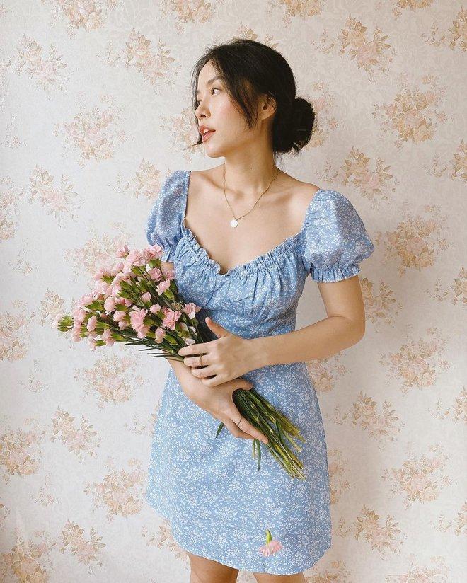 """""""Bản sao Hà Tăng"""" đích thị là chuyên gia diện váy với 5 kiểu cực trẻ xinh, tinh tế khiến chị em muốn sắm theo hết để mặc Tết - Ảnh 4."""