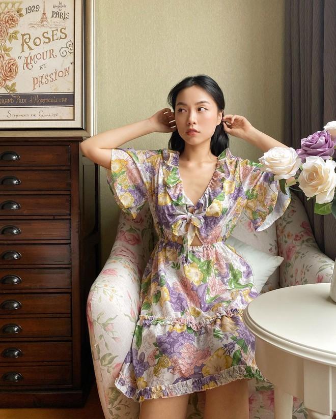 """""""Bản sao Hà Tăng"""" đích thị là chuyên gia diện váy với 5 kiểu cực trẻ xinh, tinh tế khiến chị em muốn sắm theo hết để mặc Tết - Ảnh 3."""