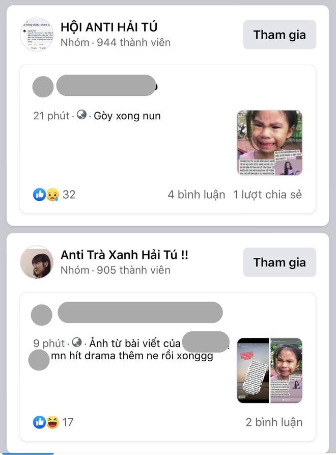 Dân mạng tràn vào trang cá nhân tấn công Hải Tú, group anti mọc ào ào trên Facebook - ảnh 5