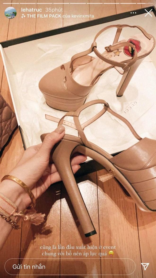 Gái xinh xúng xính chuẩn bị dự WeChoice Awards, Hà Trúc lục tủ chặt chém thảm đỏ với giày cao gót 14cm - ảnh 5