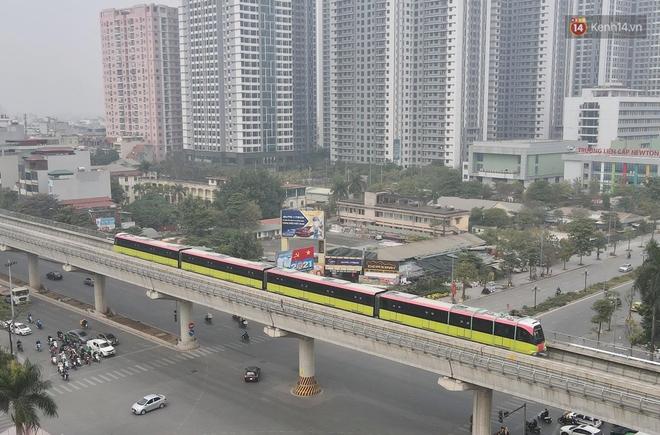 Đoàn tàu đầu tiên của tuyến đường sắt đô thị l Nhổn - Ga Hà Nội chính thức lăn bánh, bước vào giai đoạn thử nghiệm liên động - ảnh 3