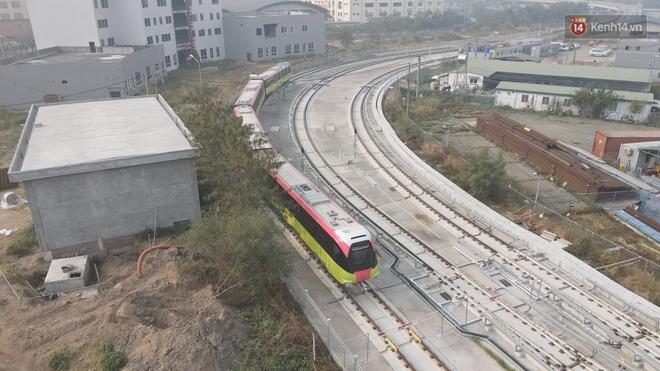 Đoàn tàu đầu tiên của tuyến đường sắt đô thị l Nhổn - Ga Hà Nội chính thức lăn bánh, bước vào giai đoạn thử nghiệm liên động - ảnh 5