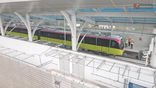 Đoàn tàu đầu tiên của tuyến đường sắt đô thị l Nhổn - Ga Hà Nội chính thức lăn bánh, bước vào giai đoạn thử nghiệm liên động - ảnh 8