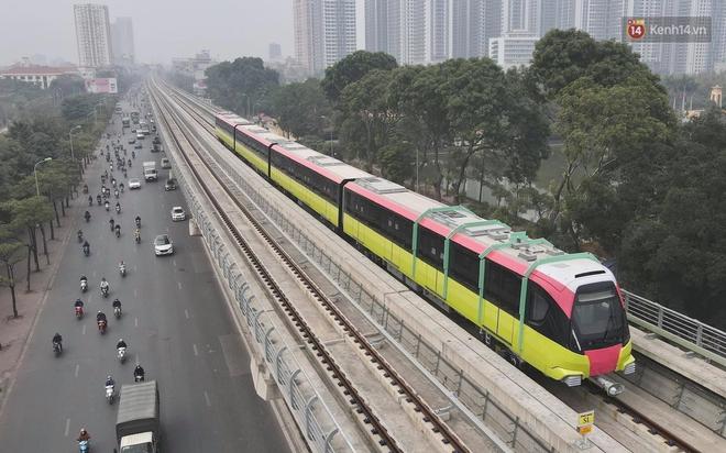 Đoàn tàu đầu tiên của tuyến đường sắt đô thị l Nhổn - Ga Hà Nội chính thức lăn bánh, bước vào giai đoạn thử nghiệm liên động - ảnh 9