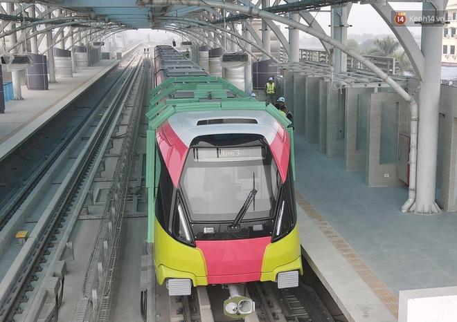 Đoàn tàu đầu tiên của tuyến đường sắt đô thị l Nhổn - Ga Hà Nội chính thức lăn bánh, bước vào giai đoạn thử nghiệm liên động - ảnh 6