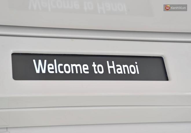 Ảnh: Cận cảnh đoàn tàu đầu tiên dự án Nhổn - ga Hà Nội - ảnh 11