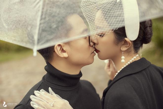 Á hậu Thuý An tung ảnh cưới lung linh trước thềm hôn lễ: Nhan sắc cô dâu đỉnh của chóp, e ấp bên chú rể hơn 12 tuổi! - ảnh 7
