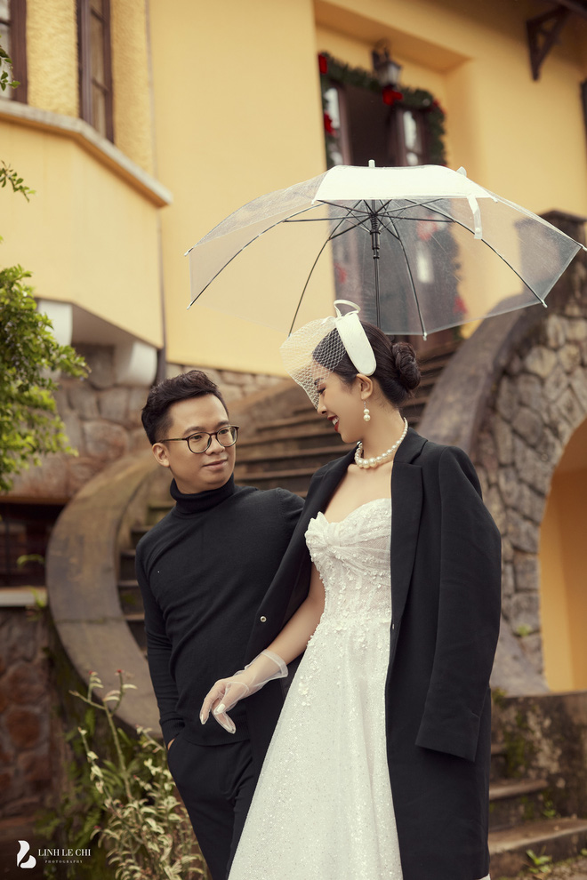Á hậu Thuý An tung ảnh cưới lung linh trước thềm hôn lễ: Nhan sắc cô dâu đỉnh của chóp, e ấp bên chú rể hơn 12 tuổi! - ảnh 10
