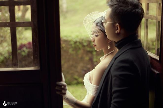 Á hậu Thuý An tung ảnh cưới lung linh trước thềm hôn lễ: Nhan sắc cô dâu đỉnh của chóp, e ấp bên chú rể hơn 12 tuổi! - ảnh 11
