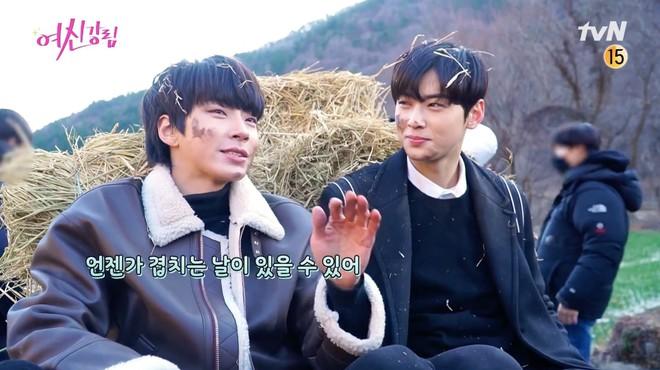 Cha Eun Woo và Hwang In Yeop bị ngã xuống ruộng phân vẫn tám rôm rả ở hậu trường True Beauty - ảnh 2