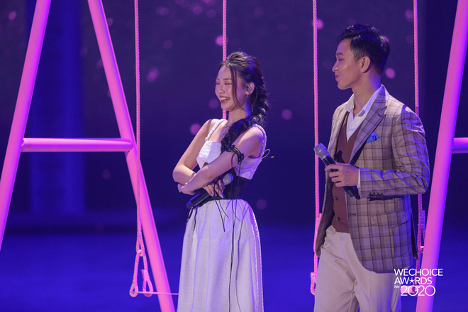 AMEE tái hợp Hoàng Dũng - Ricky Star, lần đầu hòa giọng cùng Quân A.P mang đến màn mashup không tưởng tại Gala WCA 2020 - ảnh 3