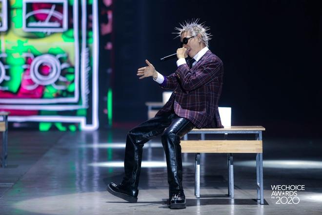 Học sinh cá biệt WEAN - MCK rủ rê trò ngoan Lăng LD - Ricky Star oanh tạc sân khấu WeChoice Awards 2020! - ảnh 6