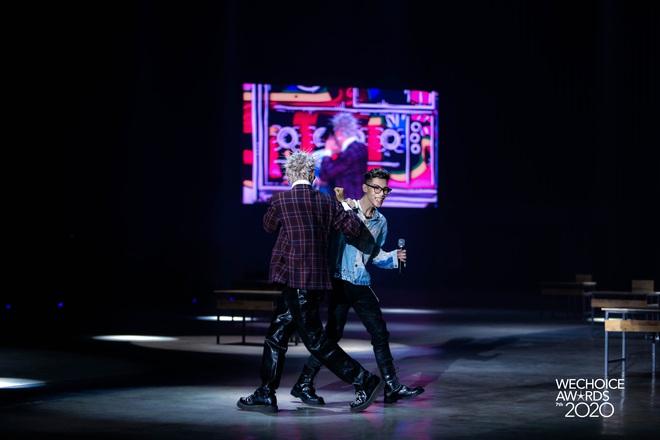 Học sinh cá biệt WEAN - MCK rủ rê trò ngoan Lăng LD - Ricky Star oanh tạc sân khấu WeChoice Awards 2020! - ảnh 5