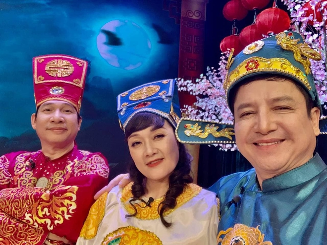 Hé lộ tạo hình của Chí Trung - Vân Dung - Quang Thắng trong Táo Quân 2021! - ảnh 1