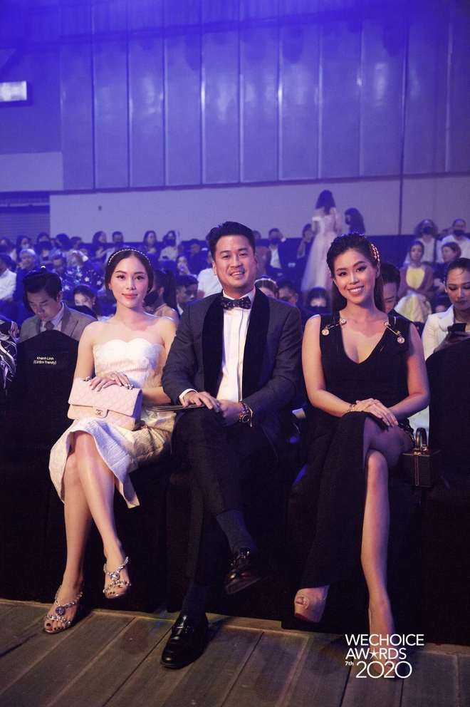 Dàn hot couple sánh vai tại Gala WeChoice Awards: Linh Rin - Phillip Nguyễn trông như vợ chồng son, Wean - Naomi bao ngầu - ảnh 2