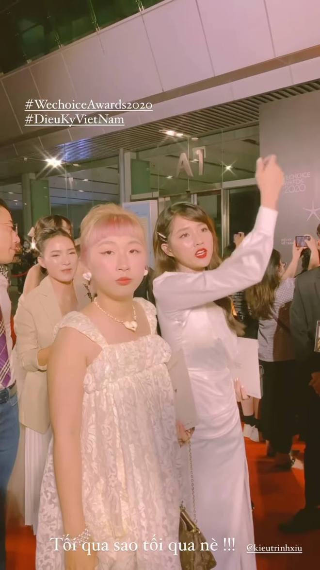 Gánh hài Trang Hý kể chuyện đi WeChoice: Liên tục quay story dìm hàng bạn thân, đến đoạn Quân A.P hát thì đòi... lấy chồng tức khắc?! - ảnh 2