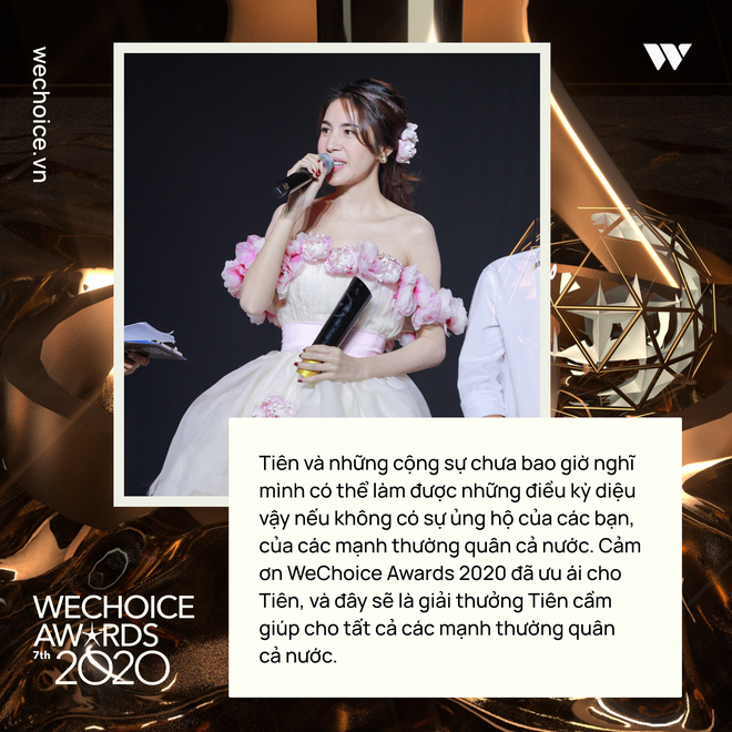 Loạt chia sẻ truyền cảm hứng tại Gala WeChoice: Ai cũng sống hết mình, tại sao bạn lại không? - ảnh 9