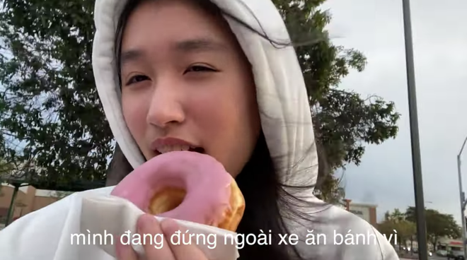 Jenny Huỳnh gây choáng với bảng điểm toàn A, sẵn sàng đứng dưới trời lạnh ăn bánh vì anh trai không muốn xe bẩn - ảnh 3