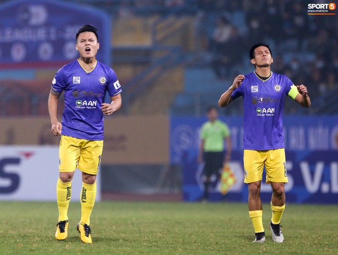 Thua hai trận liền, HLV Chu Đình Nghiêm nói Hà Nội FC có thể phải đua trụ hạng - ảnh 1