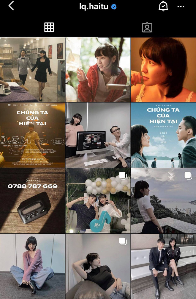 Hải Tú của hiện tại: Chủ tịch Sơn Tùng M-TP là người đàn ông duy nhất xuất hiện trên Instagram cá nhân! - ảnh 2