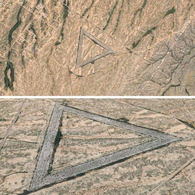 Những hình ảnh bí ẩn, càng tưởng tượng càng khó thở được Google Maps chụp lại - ảnh 5