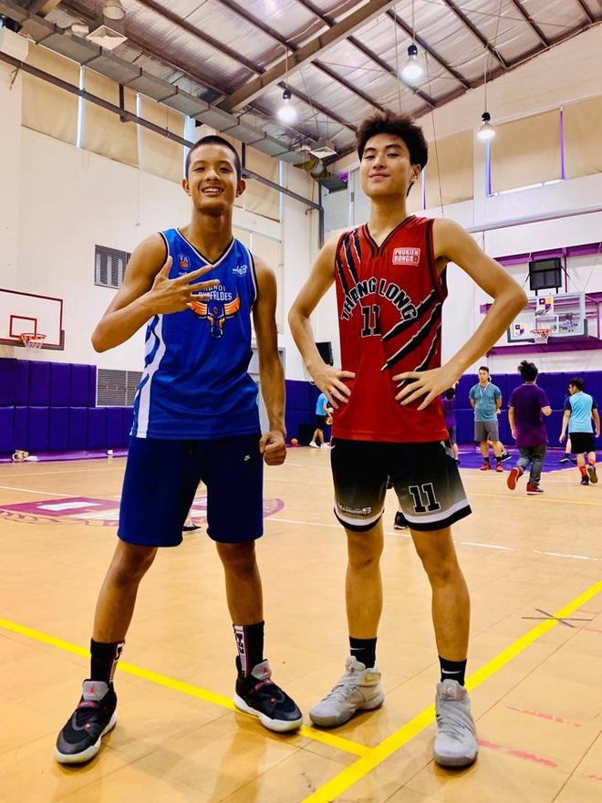 """Chân dung các """"con nhà người ta"""" tại giải bóng rổ học sinh Hà Nội - ảnh 6"""