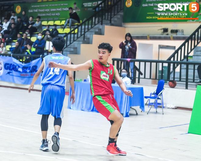 """Chân dung các """"con nhà người ta"""" tại giải bóng rổ học sinh Hà Nội - ảnh 10"""