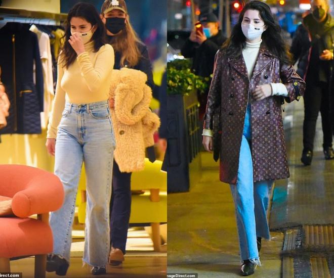 Selena Gomez đi dạo sương sương mà chốt luôn đơn áo khoác Louis Vuitton 150 triệu, đúng là đẳng cấp chị đẹp giàu sang - ảnh 5