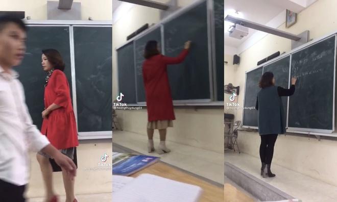 Dân tình phát sốt trước cô giáo 3 năm đi dạy chưa mặc trùng bộ nào, style xanh - đỏ - tím - vàng màu nào cũng có đủ - ảnh 1