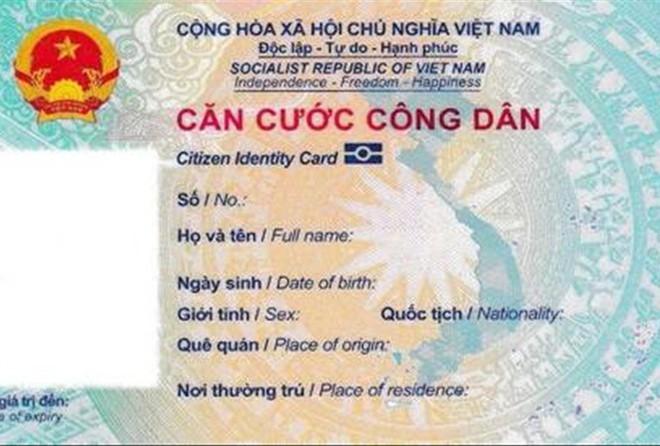 Thẻ căn cước cocircng dacircn mới coacute thể thay cho hộ chiếu