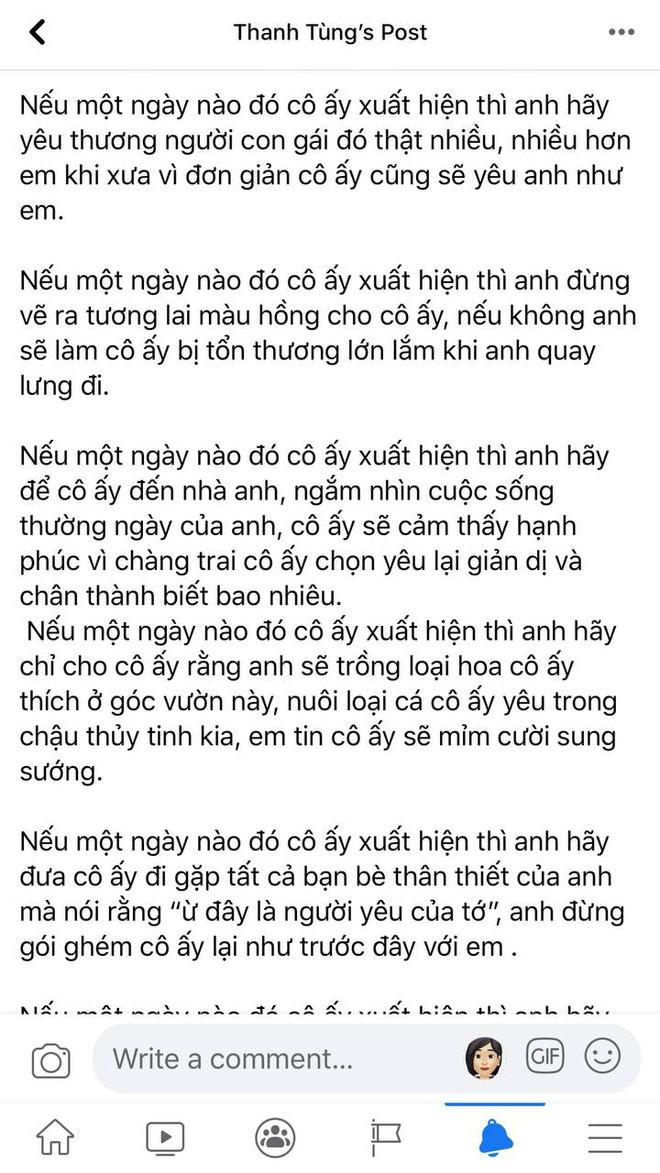"""Dậy sóng status của Sơn Tùng từ 8 năm trước """"tiên tri"""" đúng chi tiết không công khai tình cảm và có """"trà xanh"""" chen giữa? - Ảnh 2."""