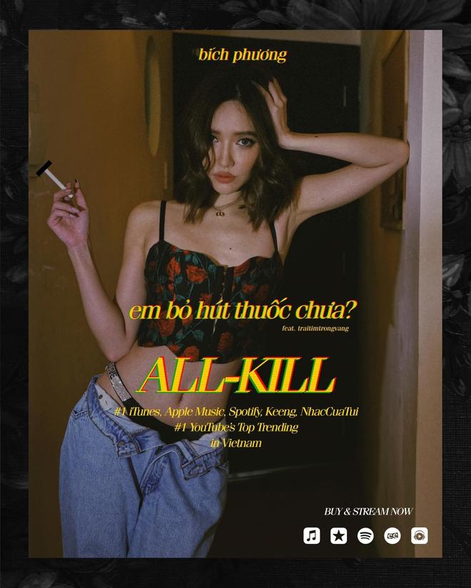 Bích Phương - Nữ nghệ sĩ đầu tiên đạt all-kill tại Vpop - Ảnh 8.