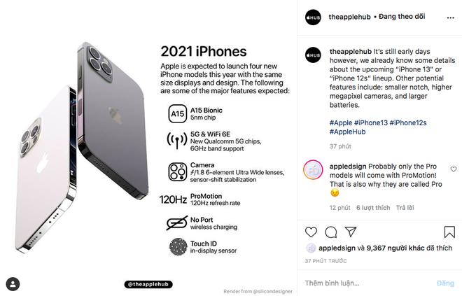 Rò rỉ hình ảnh iPhone 13, cư dân mạng xôn xao với hint bỏ cổng sạc - Ảnh 1.