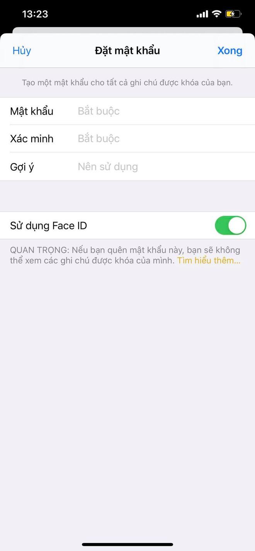 Cách khoá Notes, giấu thông tin nhạy cảm trên iPhone - Ảnh 2.