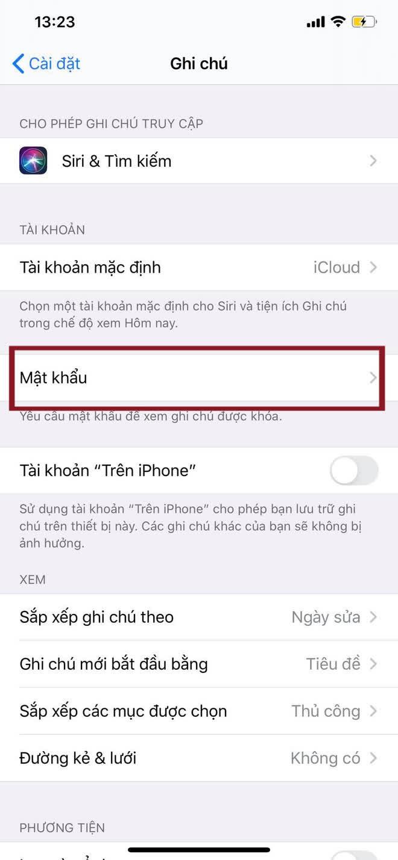 Cách khoá Notes, giấu thông tin nhạy cảm trên iPhone - Ảnh 1.