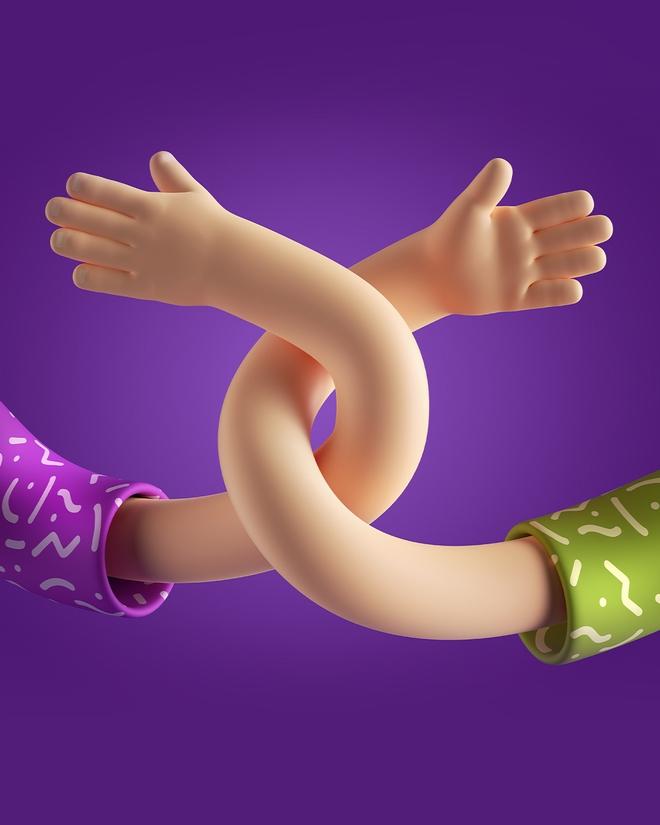 Đưa tay đây nào, mãi bên nhau bạn nhé - chiếc trend được lòng người chơi hệ TikTok nhất nhì năm - Ảnh 1.