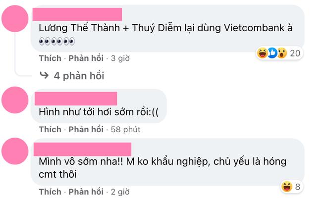 Fanpage Vietcombank tiếp tục bị netizen hùa nhau tấn công sau khi bà Phương Hằng gọi tên Lương Thế Thành - Thuý Diễm - ảnh 3