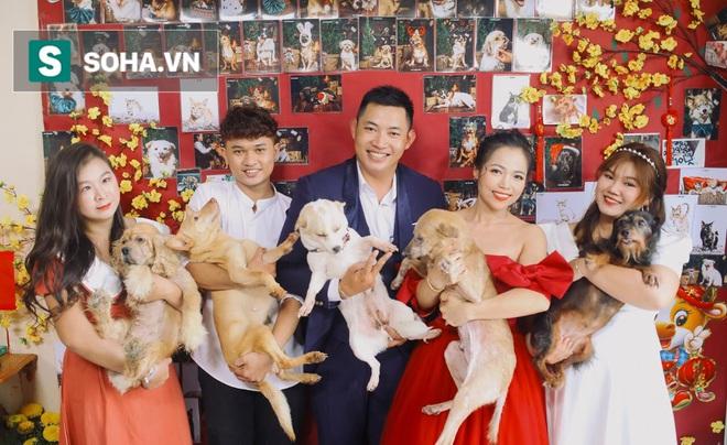 Cặp vợ chồng cưu mang 100 con chó, mèo bị chủ F0 bỏ rơi mùa dịch: Chúng tôi không sinh con để chu toàn cho tụi nhỏ - ảnh 15