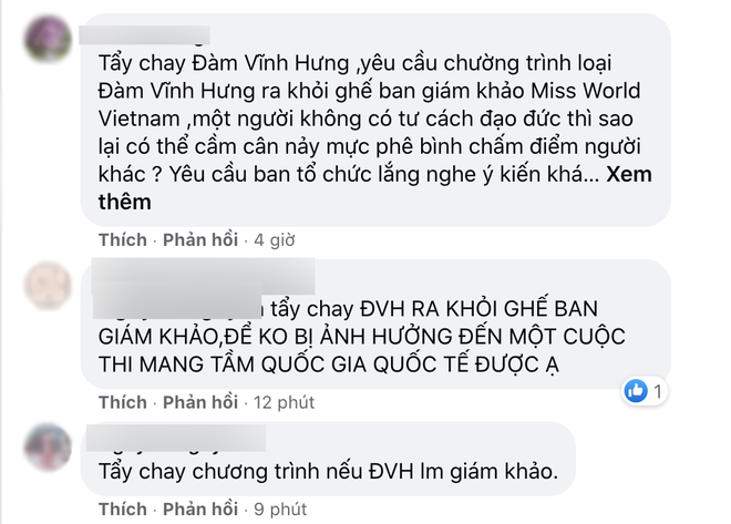 Đàm Vĩnh Hưng bị netizen phản đối chấm thi Miss World Vietnam 2021, lý do là gì? - ảnh 3