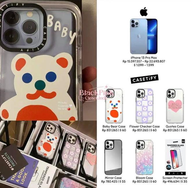 Vừa tậu iPhone 13, Jisoo (BLACKPINK) đã được tặng ngay một rổ ốp mới siêu xinh với giá cũng siêu chát - ảnh 6