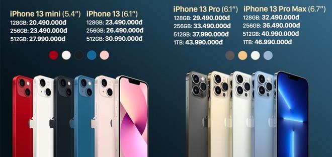 iPhone 13 chính hãng bắt đầu cho đặt hàng từ hôm nay - ảnh 1