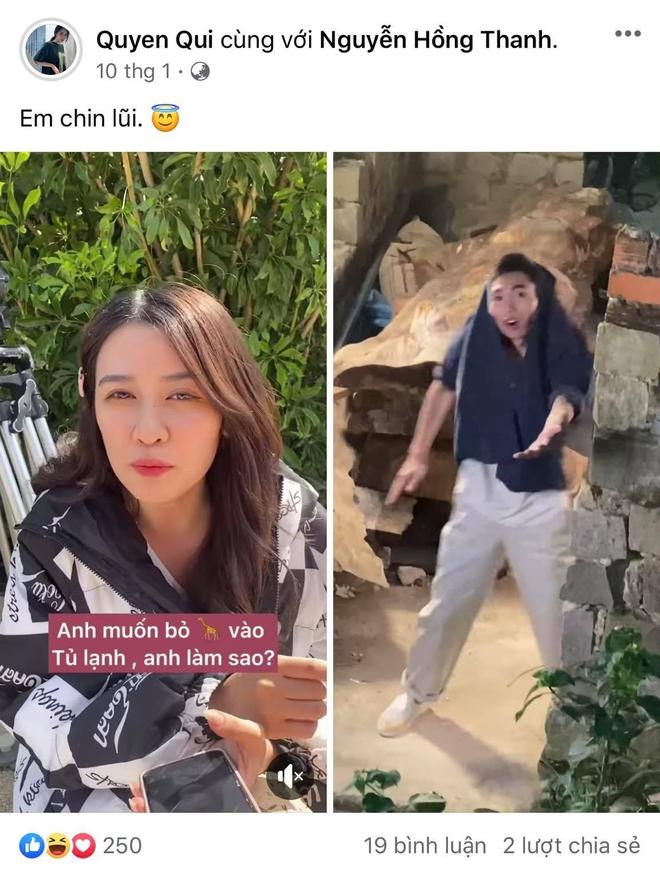 """Hồng Thanh vừa bị ném đá vì """"nhớ hơi em"""" với gái lạ, Mie lên tiếng thanh minh chưa chia tay: PR quá cồng kềnh? - Ảnh 6."""