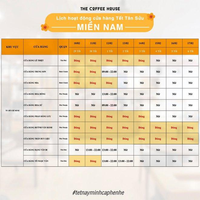 Danh sách những quán cà phê mở cửa xuyên Tết ở Sài Gòn, có tới hàng trăm sự lựa chọn đây khỏi lo thiếu chỗ! - Ảnh 25.
