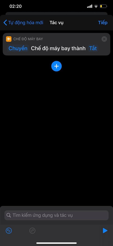 """Mẹo bật, tắt """"Chế độ máy bay"""" tự động theo khung giờ nhất định trên iPhone - Ảnh 4."""