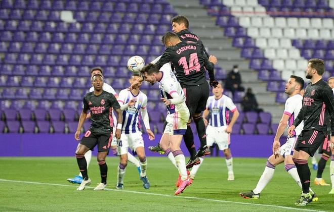 Người hùng ghi bàn duy nhất giúp Real Madrid vất vả thắng đội áp chót, thu hẹp khoảng cách với Atletico trong cuộc đua vô địch - ảnh 8