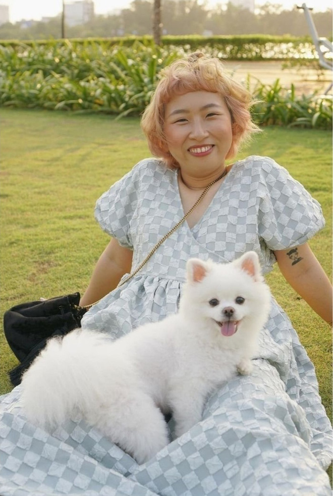 Trang Hý lúc ra đường với khi ở nhà như hai người khác nhau, tất cả là vì mái tóc - ảnh 1